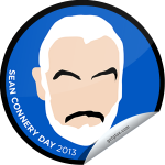 Sean Connery Day 2013 GetGlue Badge