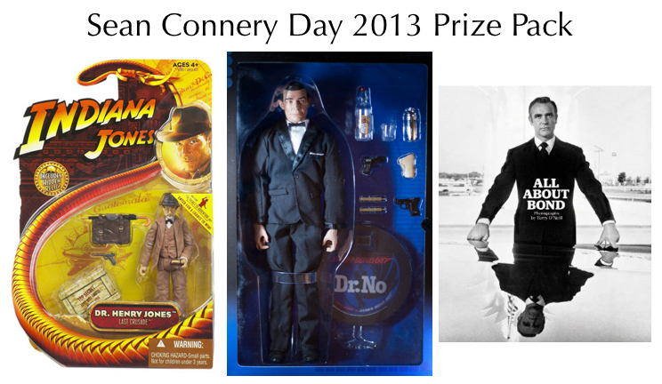 Sean Connery Day 2013 Prize Pack